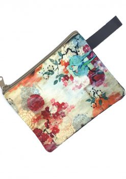spring blossom pouch