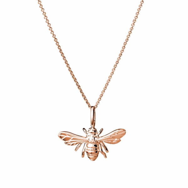 Bee in rose gold