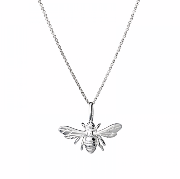 Bee in silver