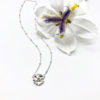 Lab flower necklace