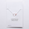 LInked forever necklace