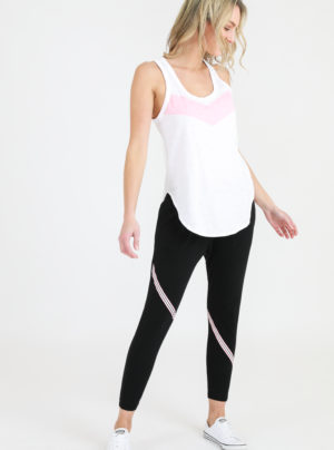 Miranda jogger with stripe detail on legs
