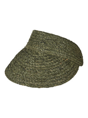 sun visor in olive green