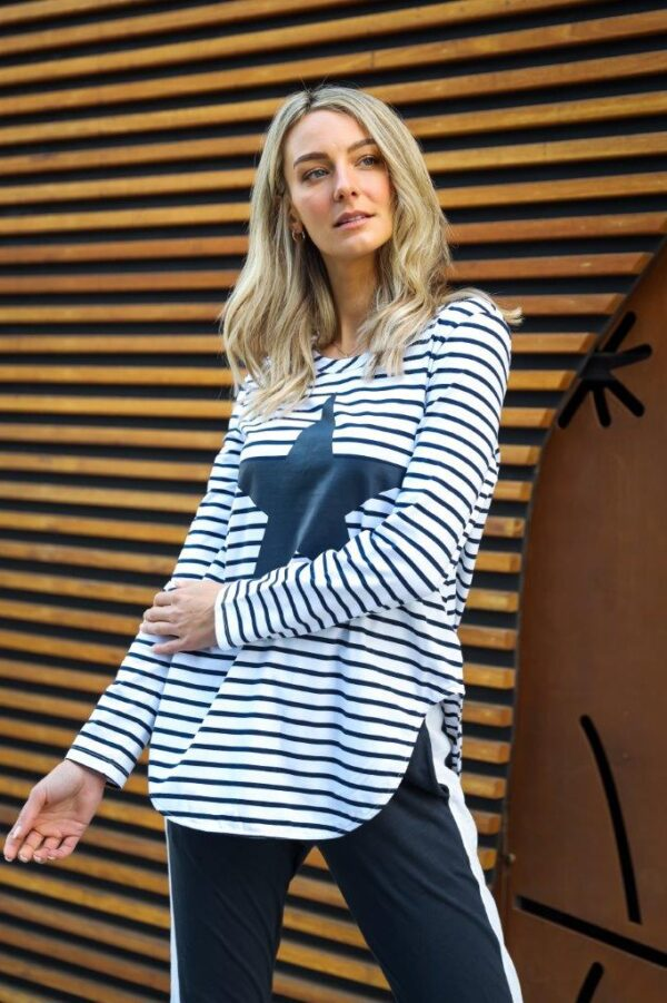 445-1213 simple star and stripe tee(6)